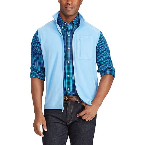 Big & Tall Chaps Classic-Fit Microfleece Vest