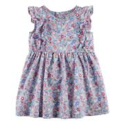 Baby Girl Carter's Floral Flutter Dress