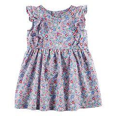 Baby Girl Carter's Floral Flutter Dress