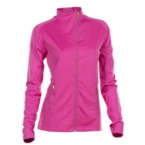 Plus Size Nancy Lopez Quake Thumb Hole Golf Jacket