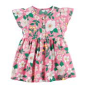Baby Girl Carter's Henley Floral Dress