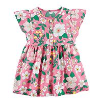Baby Girl Carter's Henley Floral Dress