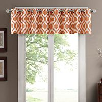 Madison Park Bergamo Chenille Jacquard Window Valance