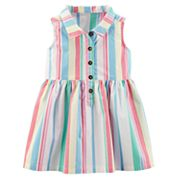 Baby Girl Carter's Striped Henley Dress