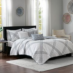 Madison Park 6-piece Syracuse Coverlet Set