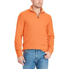Big & Tall Chaps Classic-Fit Quarter-Zip Pullover Sweater