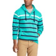 Big & Tall Chaps Classic-Fit Striped Hoodie
