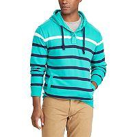 Big & Tall Chaps Classic-Fit Striped Hoodie
