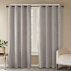Madison Park Evadne Embossed Window Curtain