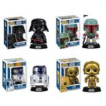 Funko Pop! Star Wars Vinyl Collectors Set: Darth Vader, Boba Fett, R2-D2 & C-3PO