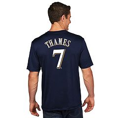 Men's Majestic Milwaukee Brewers Eric Thames Name and Number Tee