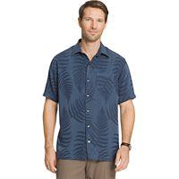 Men's Van Heusen Classic-Fit Leaf Jacquard Button-Down Shirt