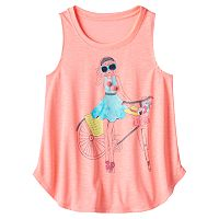 Girls 7-16 SO® Curved Hem Swing Tank Top
