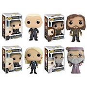 Funko Pop! Harry Potter: Draco Malfoy, Sirius Black, Luna Lovegood & Dumbledore Collectors Set