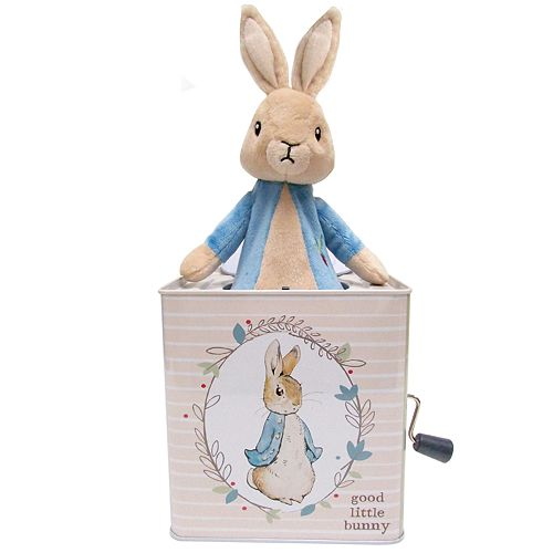 "Kids Preferred ""Peter Rabbit"" Peter Rabbit Jack-in-the-Box"