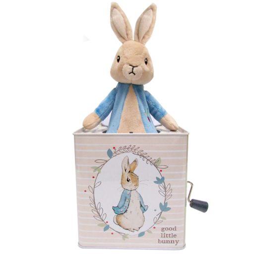 "Kids Preferred ""Peter Rabbit"" Peter Rabbit Jack-in-the-Box"