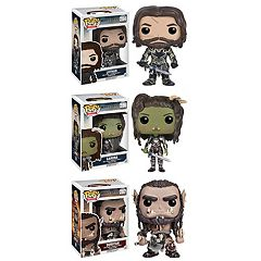 Funko Pop! Warcraft Movies Collectors Set:  Lothar, Garona & Durotan
