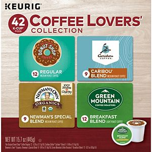 Coffee Lovers' Collection, Keurig® K-Cup® Pods, Light and Medium Roasts - 42-pk.