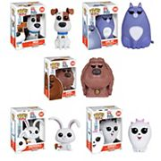 Funko Pop! The Secret Life of Pets Movie Collectors Set: Max, Chloe, Duke, Snowball & Gidget