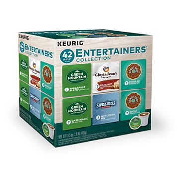 Keurig® K-Cup® Pod Entertainers' Collection Coffee & Hot Cocoa - 42-pk.
