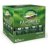 Keurig® K-Cup® Pod Green Mountain Coffee Favorites Collection - 42-pk.