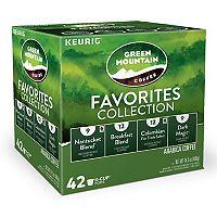 Keurig® K-Cup® Pod Green Mountain Coffee Favorites Collection - 42 pk
