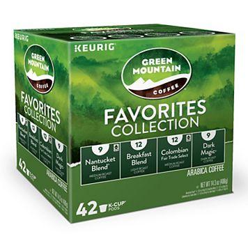 Keurig® K-Cup® Pod Green Mountain Coffee Favorites Collection - 42-pk.