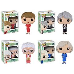 Funko Pop! Golden Girls Sophia, Rose, Blanche, Dorothy  TV Collectors Set