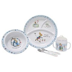 Kids Preferred 'Peter Rabbit' Peter Rabbit 5 pc Mealtime Set