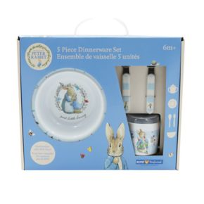 "Kids Preferred ""Peter Rabbit"" Peter Rabbit 5-pc. Mealtime Set"