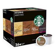 Keurig® K-Cup® Pod Starbucks Variety Pack Coffee - 36 pk