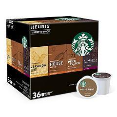 Keurig® K-Cup® Pod Starbucks Variety Pack Coffee - 36-pk.