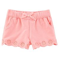 Baby Girl OshKosh B'gosh® Eyelet Embroidered Shorts