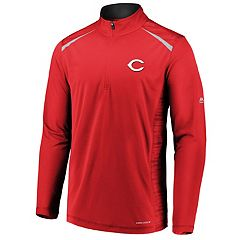 Men's Majestic Cincinnati Reds Perfect Pullover