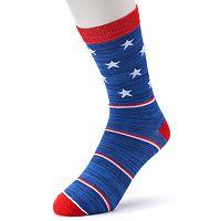 Men's Patterned Crew Socks