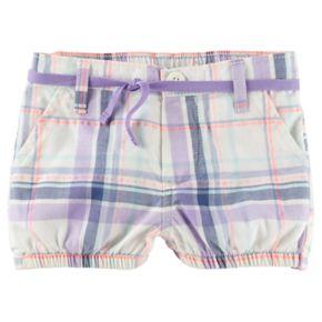 Baby Girl OshKosh B'gosh® Plaid Bubble Shorts