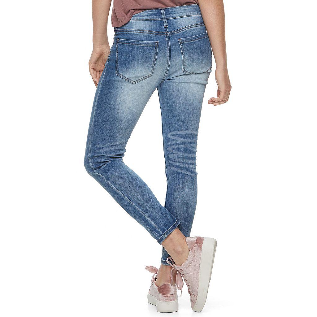 Juniors' Mudd® Skinny Ankle Jeans