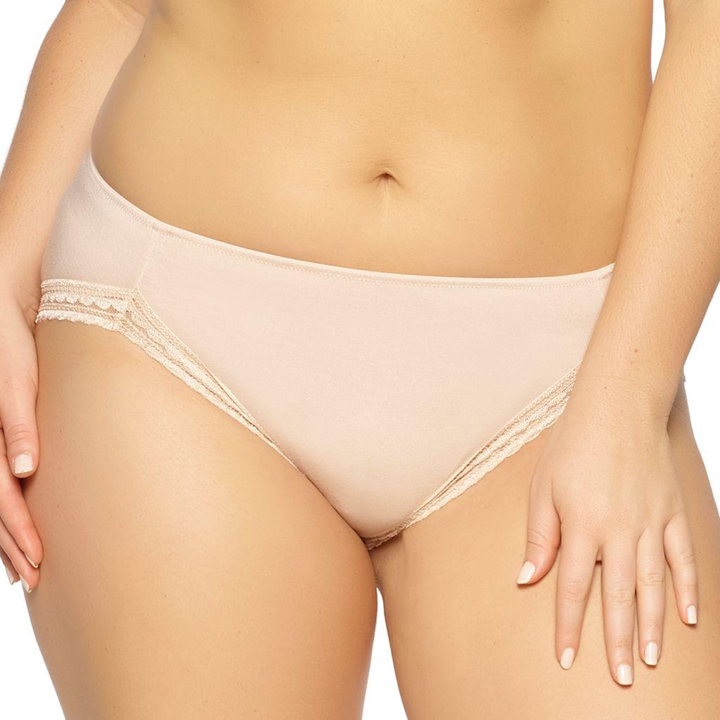 Paramour by Felina Rubie Geometric Lace Hi-Cut Panty 675043