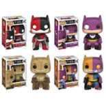 Funko Pop! ImPOPster Heroes Collectors Set:  Batgirl/Harley, Batman/Penguin, Batman/Scarecrow, Batman/Two-Face
