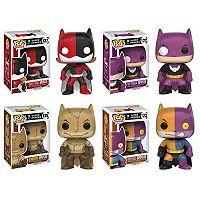 Funko Pop! ImPOPster Heroes Collectors Set: Batgirl/Harley, Batman/Penguin, Batman/Scarecrow, Batman/Two-Face