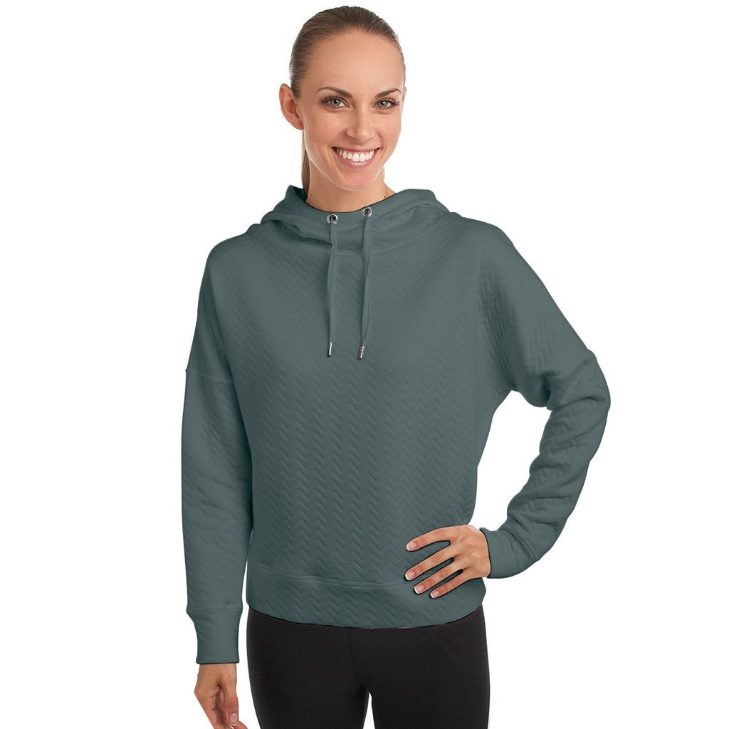 Women's Spalding Quilted Yoga Hoodie