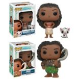 Funko Pop! Disney Princess Moana: Princess Moana, Pua & Maui Disney Collectors Set