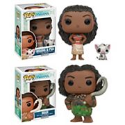 Funko Pop! Disney Princess Moana: Princess Moana, Pua & Maui Disney Collectors Set