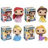 Funko Pop! Disney's Ariel, Belle, Cinderella, and Rapunzel Princess Collectors Set