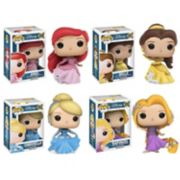 Funko Pop! Disney's Ariel, Belle, Cinderella, and Rapunzel Princess Collectors Set