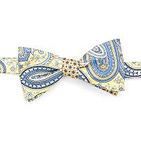 Men's Croft & Barrow® Drake Paisley Self-Tie Bow Tie