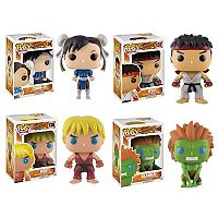 Funko Pop! Games: Street Fighter Collectors Set Chun-Li, Ryu, Ken & Blanka