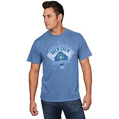 Men's Majestic Milwaukee Brewers Strategic Tee