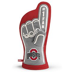 Ohio State Buckeyes Number One Fan Oven Mitt