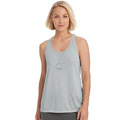 Women's Champion Authentic Burnout Logo Graphic Racerback Tank